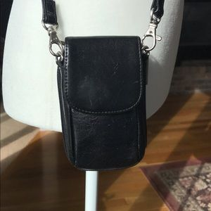 HOBO International small leather crossbody wallet